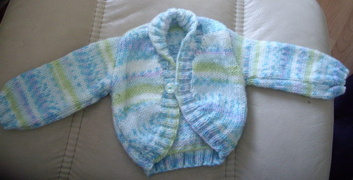 Cardigan for baby Bailey